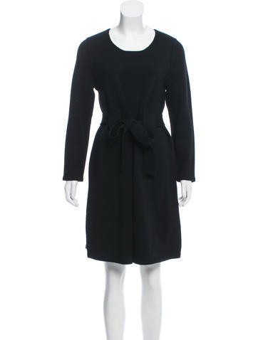 Sonia by Sonia Rykiel Long Sleeve  Sweater Dress None