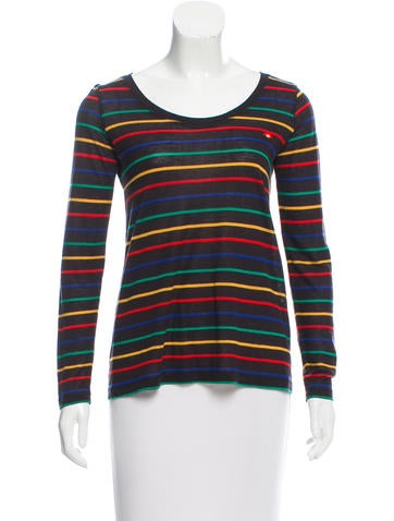 Sonia by Sonia Rykiel Striped Long Sleeve Top None
