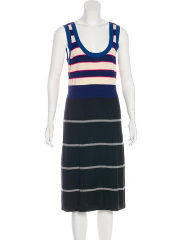 Sonia by Sonia Rykiel Knit Midi Dress None
