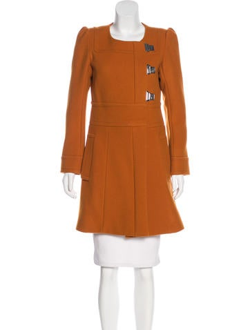 Sonia by Sonia Rykiel Wool & Cashmere-Blend Coat None