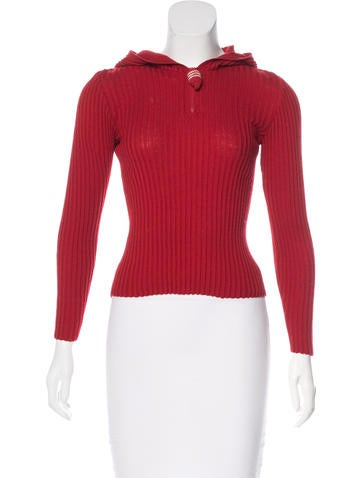Sonia by Sonia Rykiel Vintage Rib Knit Sweater None