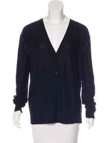 Sonia by Sonia Rykiel Long Sleeve Knit Cardigan None
