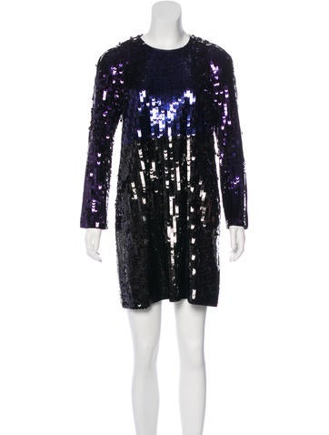 Sonia by Sonia Rykiel Sequined Mini Dress None
