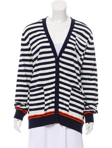 Sonia by Sonia Rykiel Striped Knit Cardigan w/ Tags None