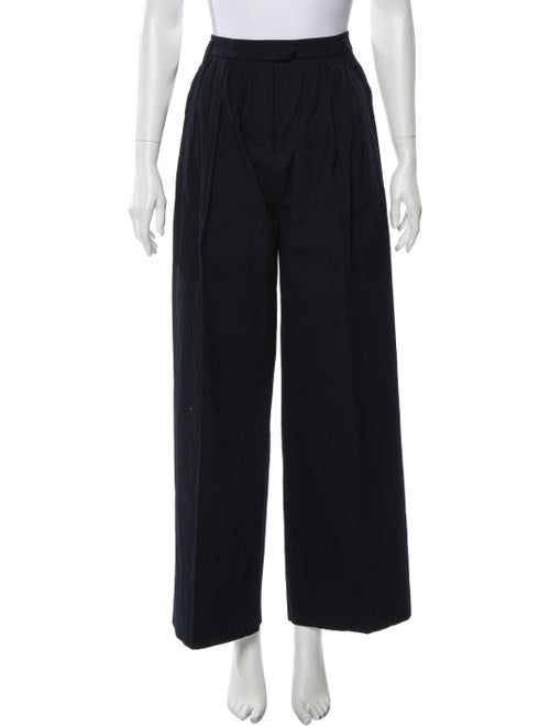 Sonia by Sonia Rykiel Wide Leg Pants Blue
