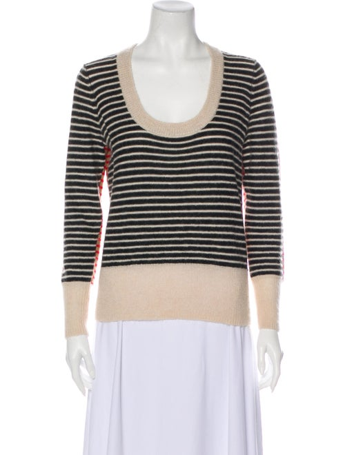 Sonia by Sonia Rykiel Wool Striped Sweater Wool