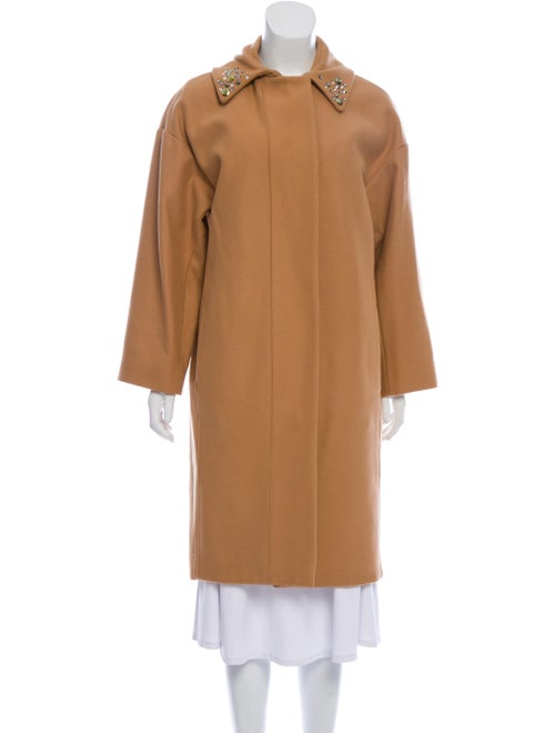 Sonia by Sonia Rykiel Wool Knee-Length Coat wool