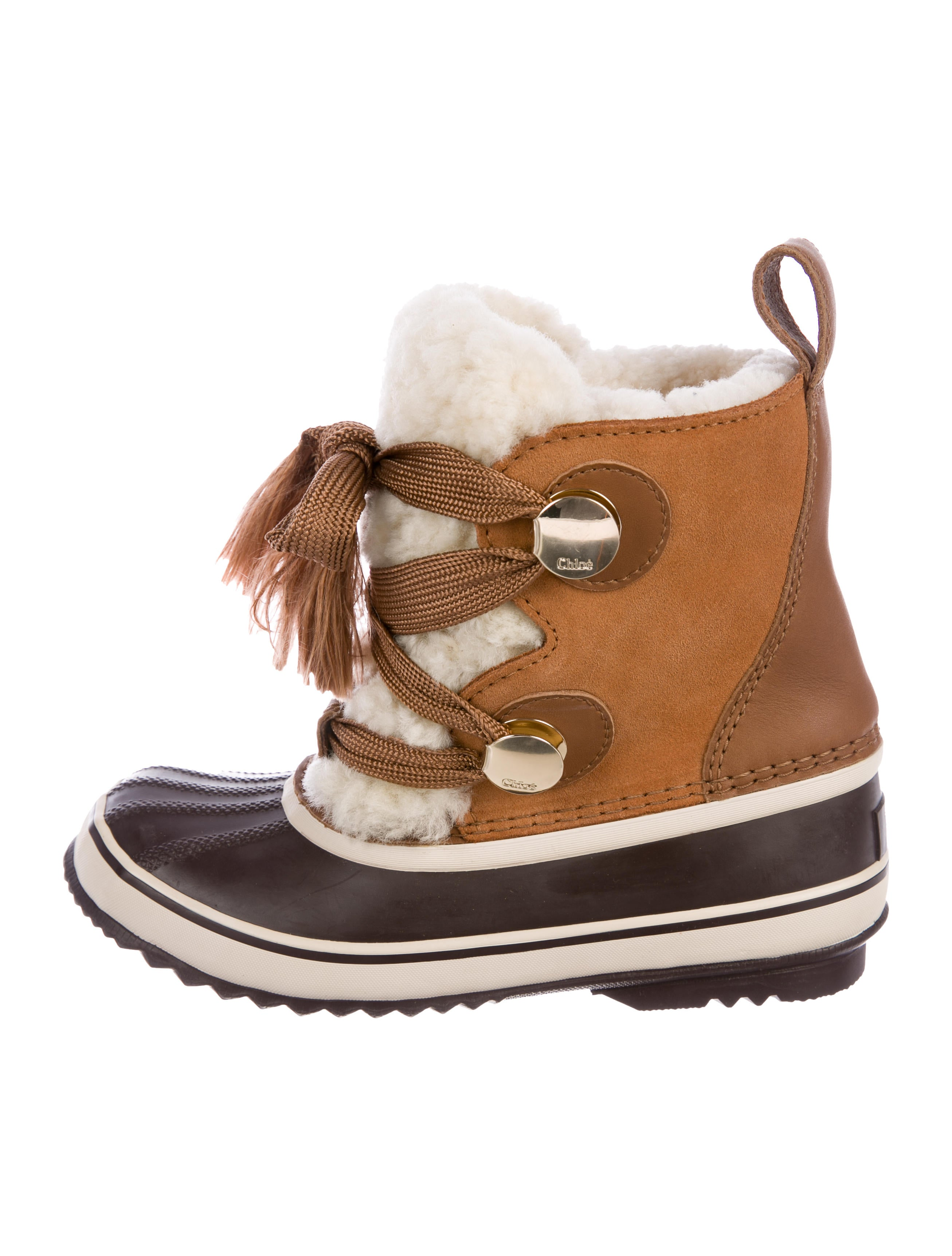 SOREL x Chloé 2018 Shearling-Trimmed Ankle Boots get authentic online enjoy cheap price AmMoQ8pX