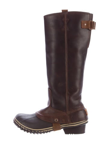 sorel leather knee high boots shoes wsorl20271