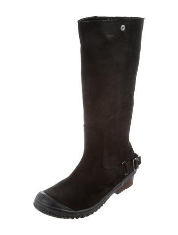 sorel suede knee high boots shoes wsorl20292 the