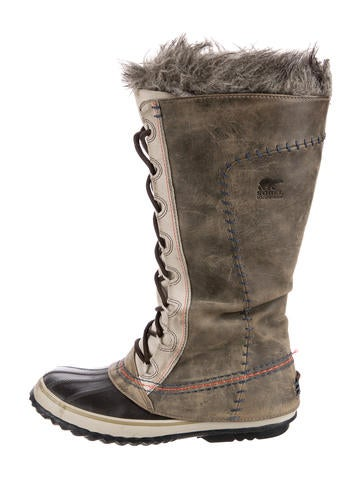sorel leather knee high boots shoes wsorl20354 the