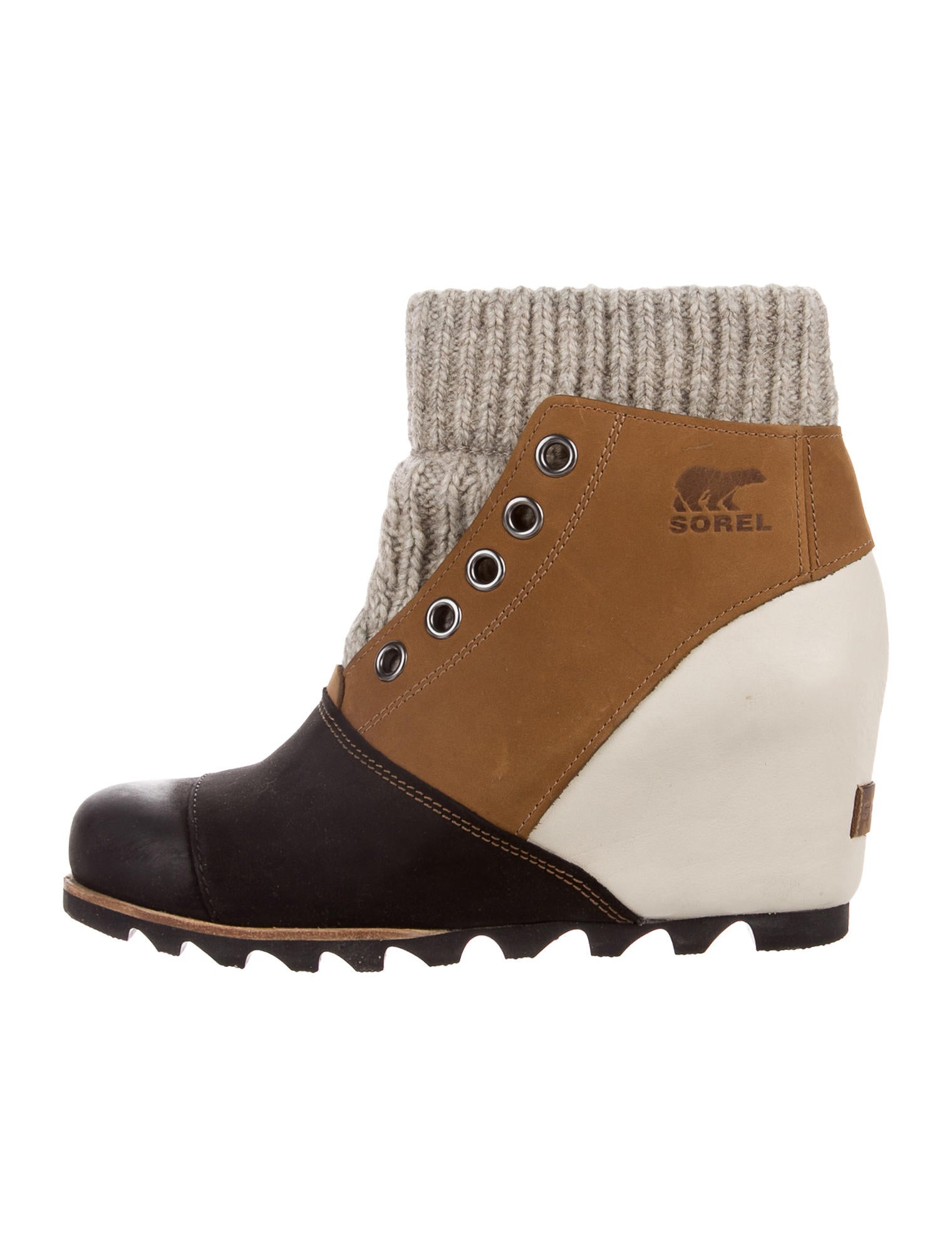 Sorel Joanie Sweater Wedge Ankle Boots W Tags Shoes Wsorl20358