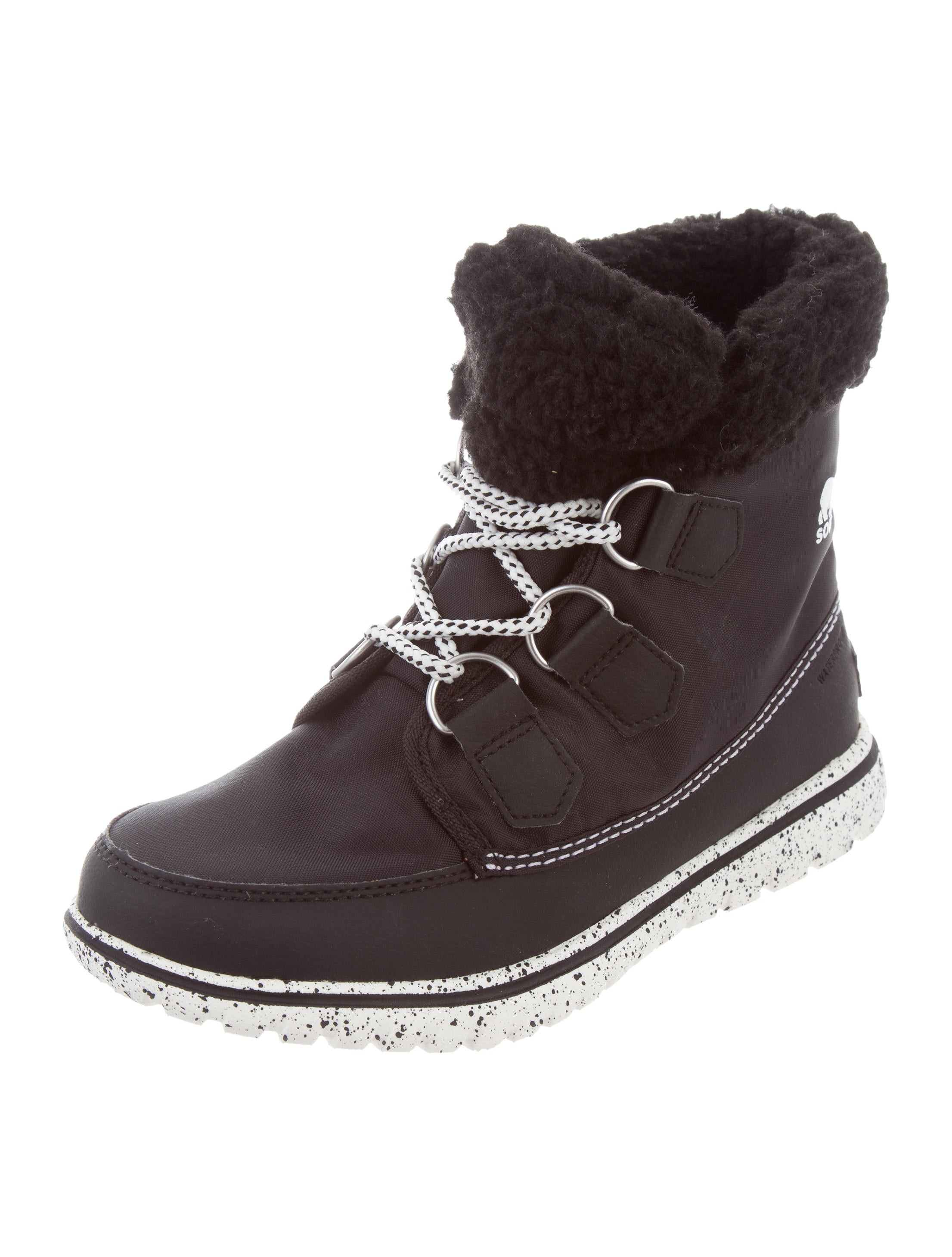 Sorel Woven & Shearling Ankle Boots excellent for sale D9Wjft