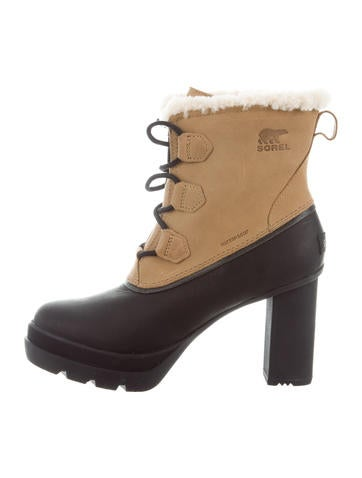 clearance browse Sorel Dacie Lace-Up Ankle Boots w/ Tags manchester great sale sale online free shipping footlocker latest collections sale online TKwKZD