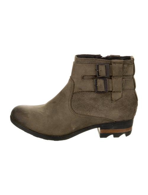 Sorel Suede Boots Green