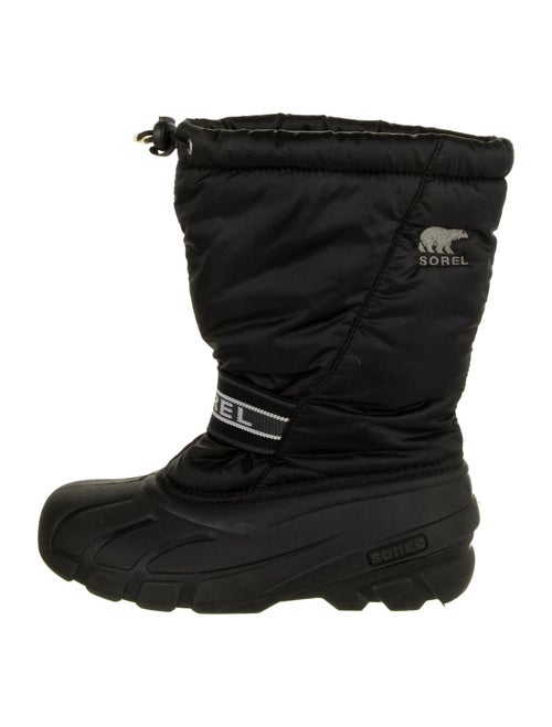 Sorel Embroidered Accent Snow Boots Black