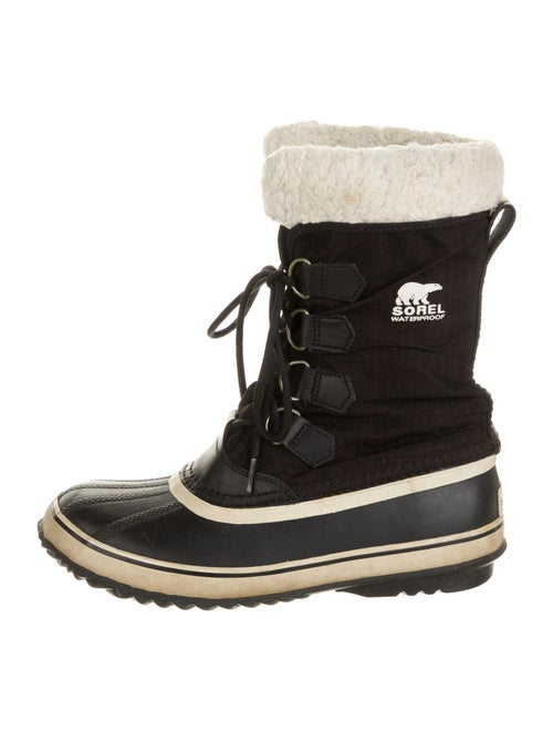 Sorel Lace-Up Boots Black
