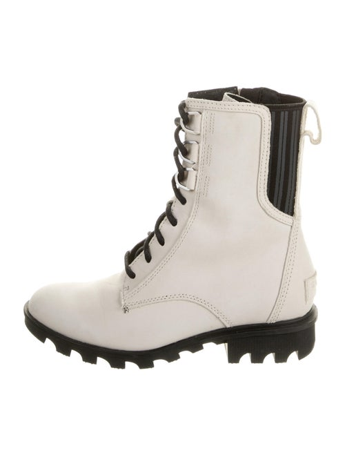 Sorel Leather Combat Boots