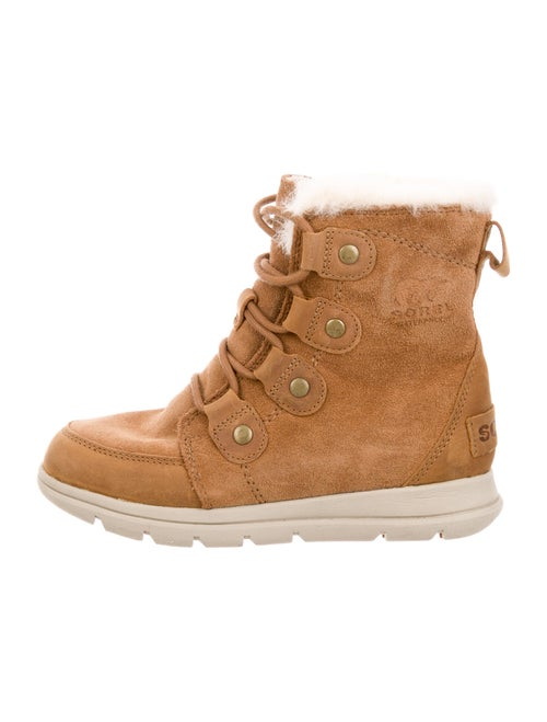 Sorel Suede Lace-Up Boots