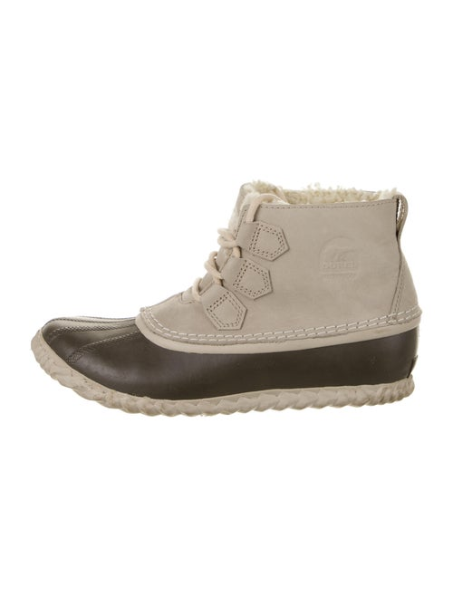 Sorel Leather Lace-Up Boots