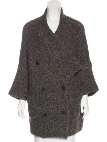 Soyer Wool-Blend Oversize Cardigan None