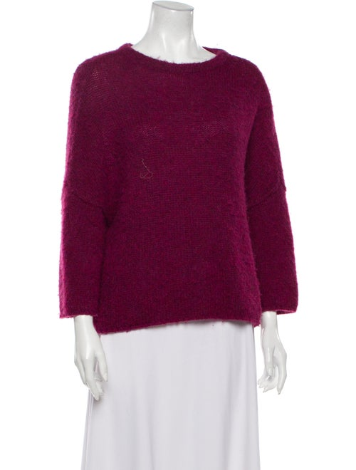 Soyer Scoop Neck Sweater Pink