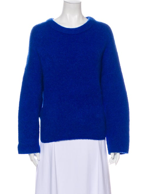Soyer Wool Scoop Neck Sweater Wool - image 1