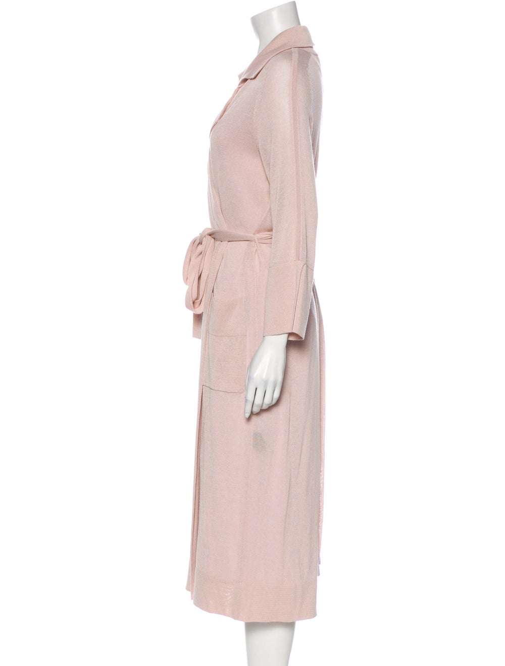 Soyer Trench Coat Pink - image 2