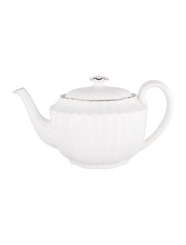 Spode Chelsea Platinum Teapot None
