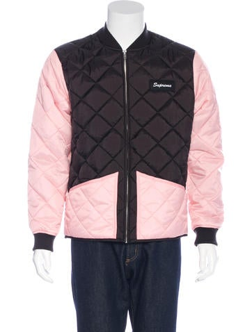 Supreme 2016 Colorblock Quilted Jacket w/ Tags None