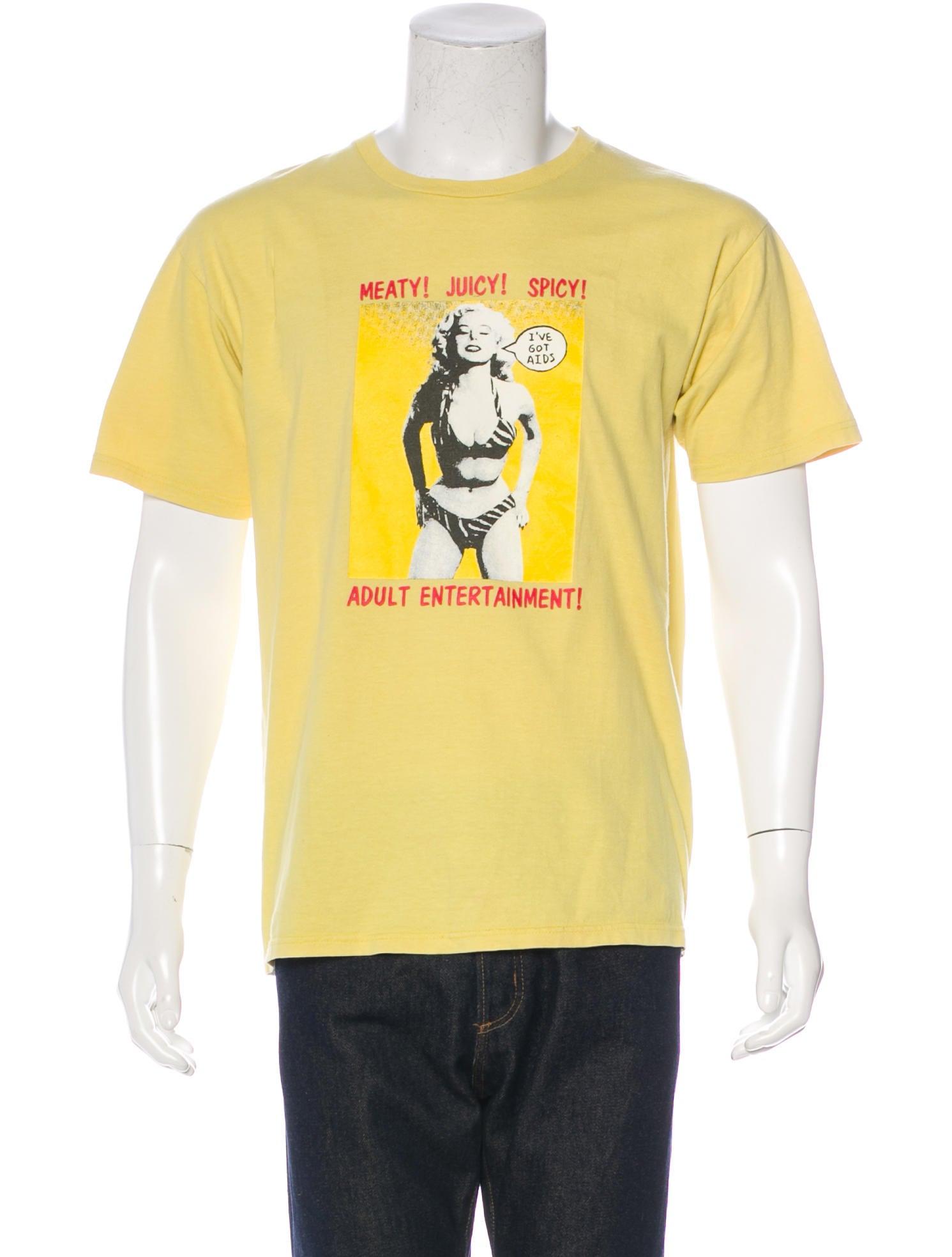 Supreme graphic print t shirt clothing wspme20199 for T shirt graphic printing
