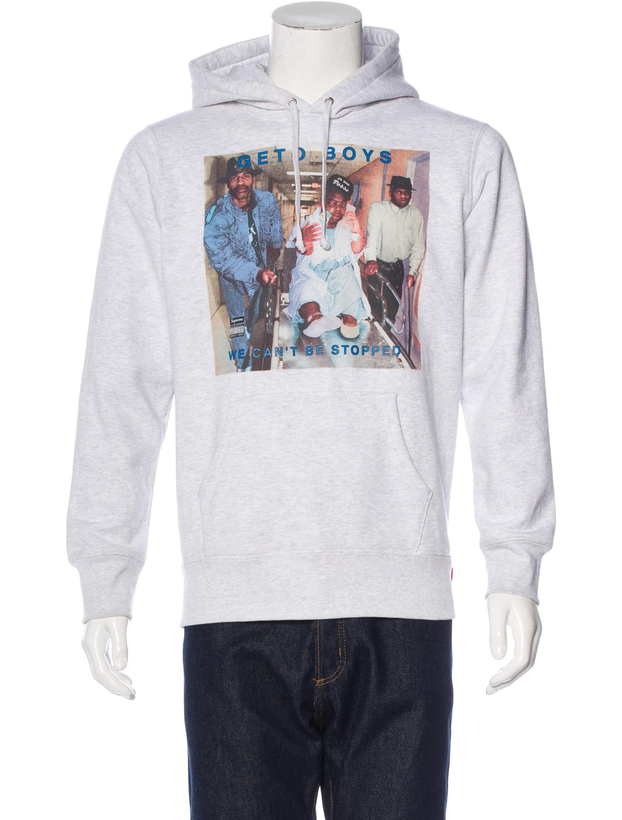 Supreme clothing hoodie