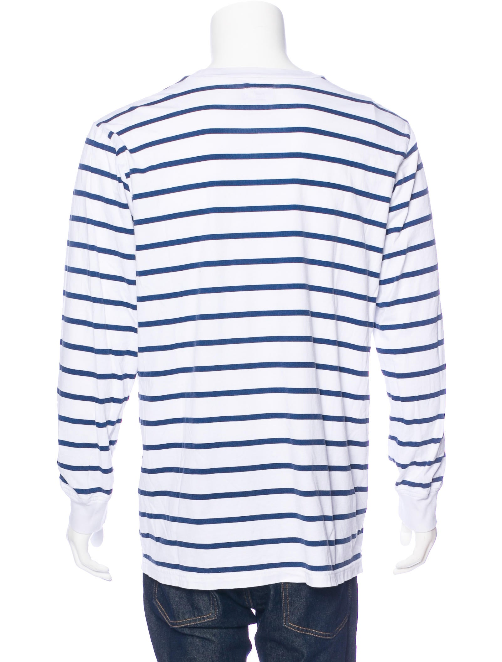 Supreme striped long sleeve t shirt clothing Striped long sleeve t shirt