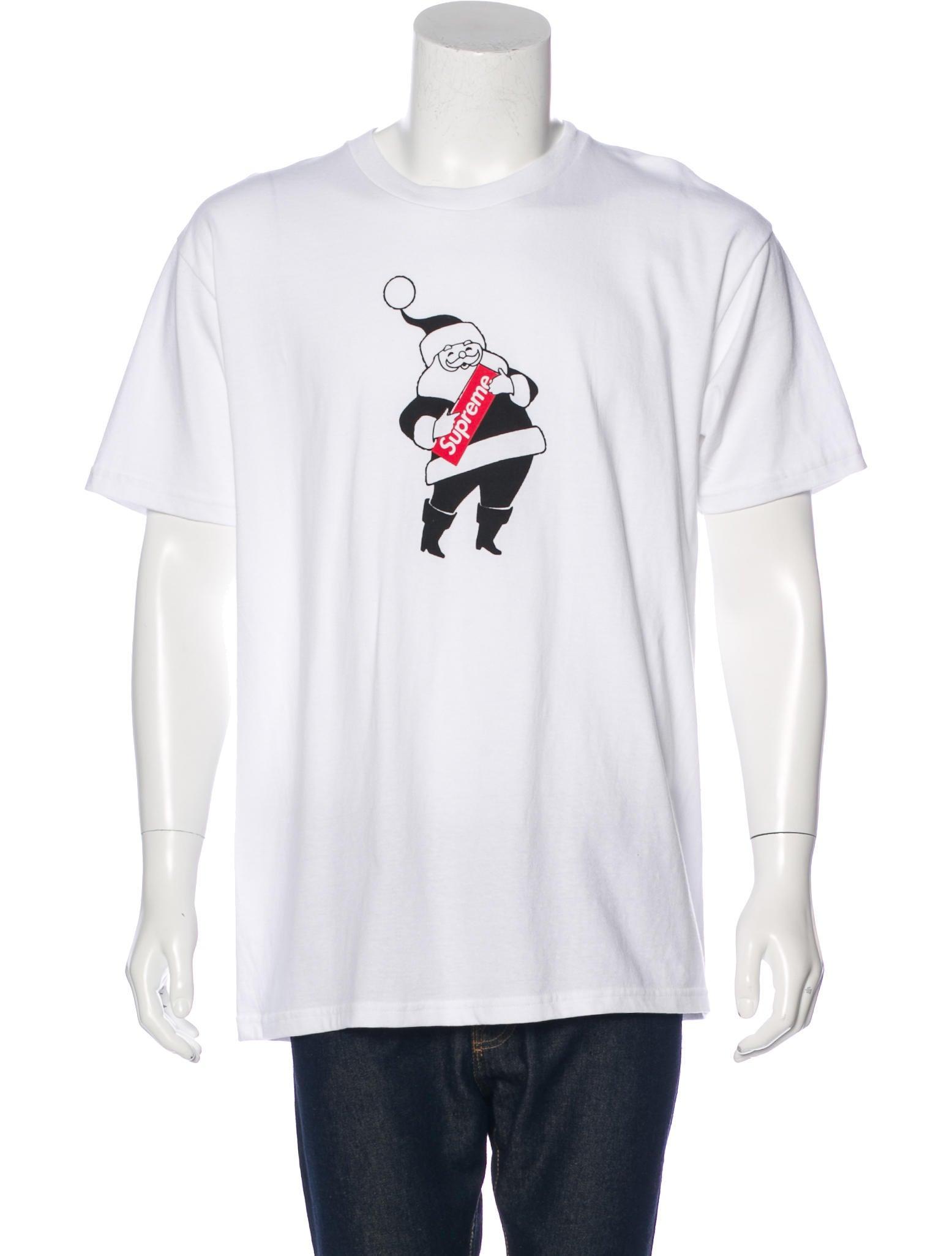 ae3b0242 Supreme 2016 Santa Box Logo T-Shirt w/ Tags - Clothing - WSPME20340 ...