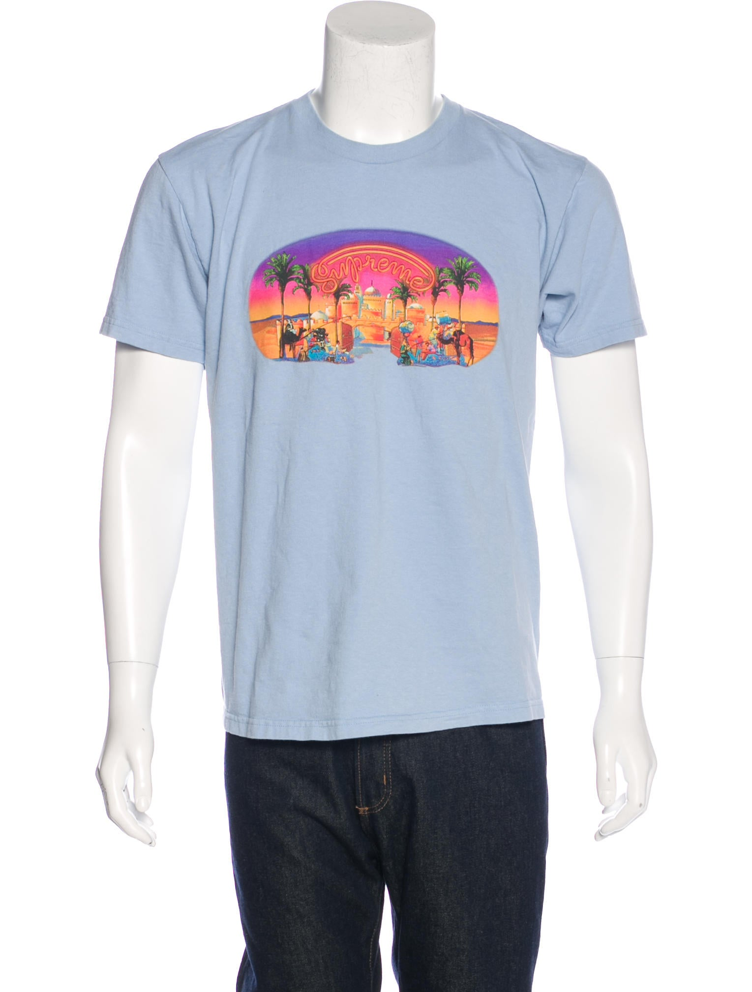 supreme oasis graphic t shirt clothing wspme20379 the realreal. Black Bedroom Furniture Sets. Home Design Ideas