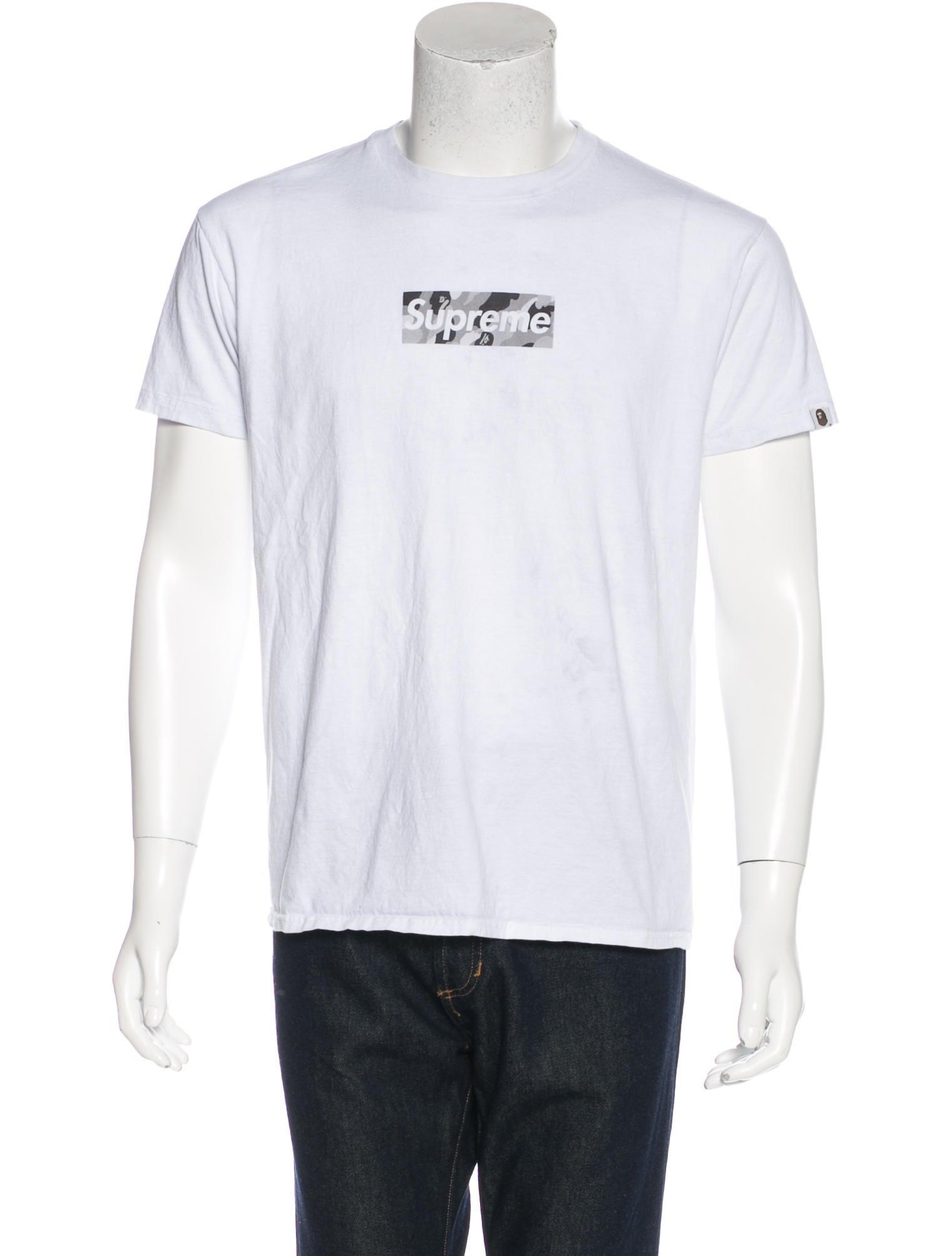 4354ac5aa405 Supreme x Bape Box Logo T-Shirt - Clothing - WSPME20460