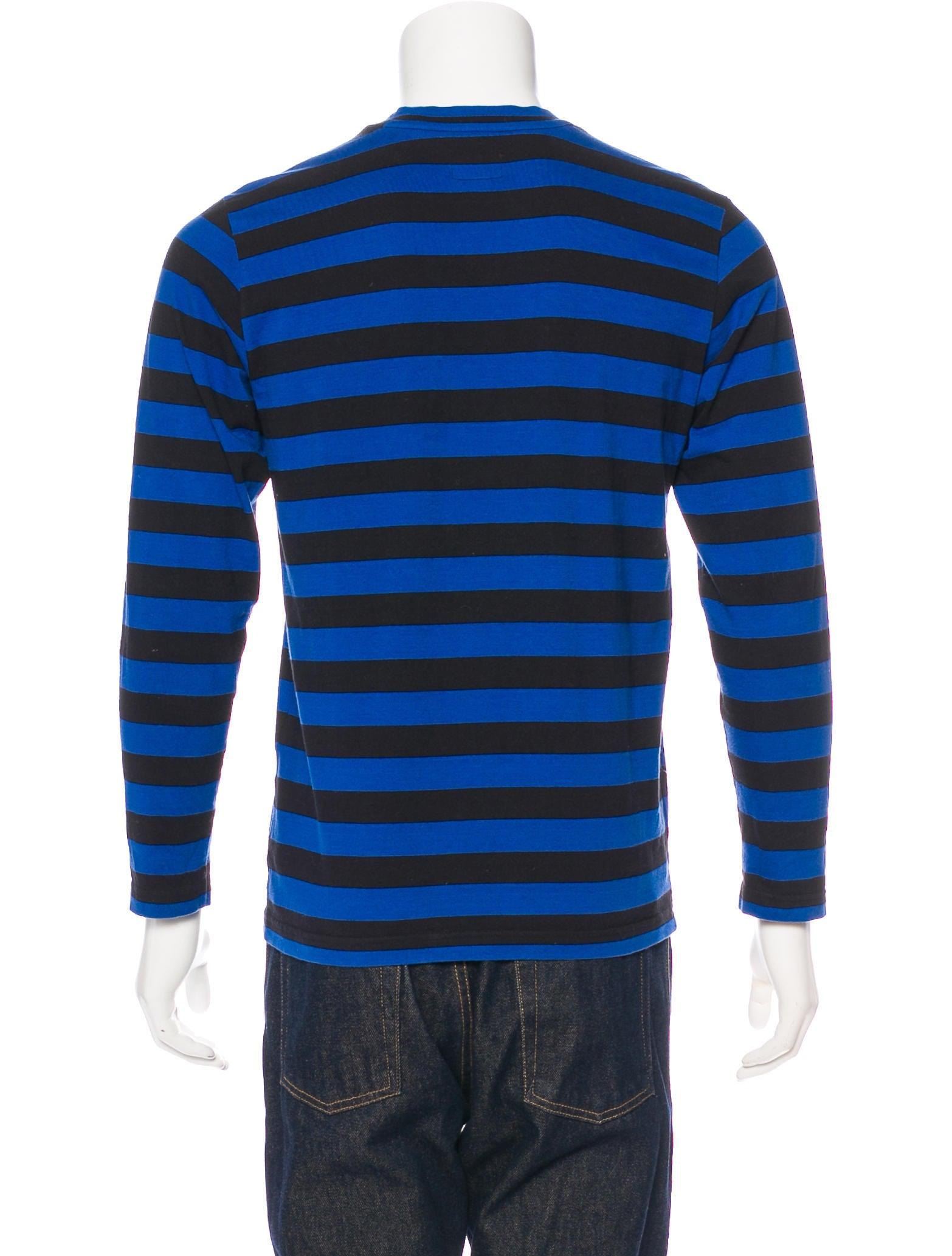 Supreme 2016 Striped T-Shirt - Clothing - WSPME20798  4f9fc3c7ab4e