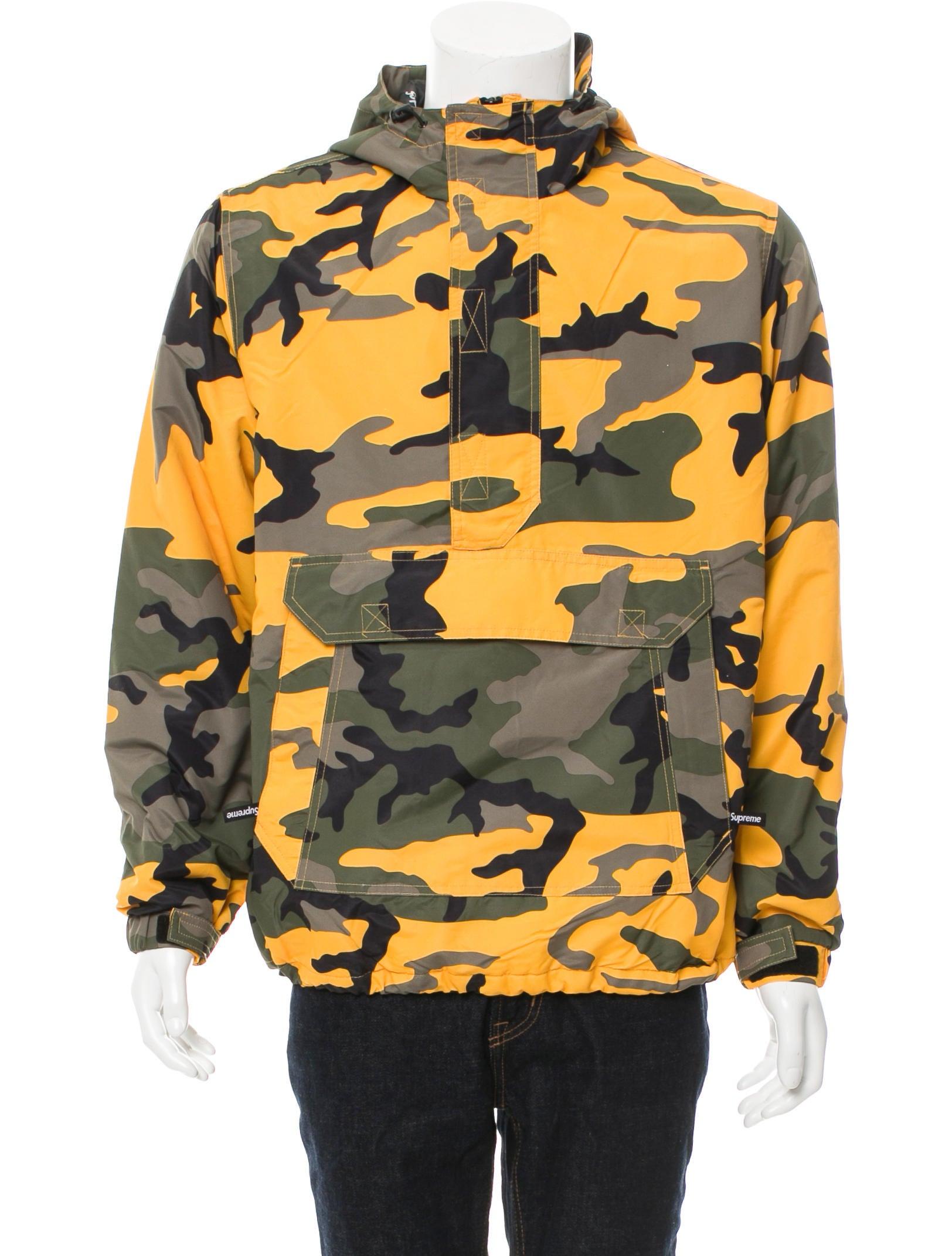 Supreme Logo Camouflage Jacket - Clothing - WSPME21105 ...
