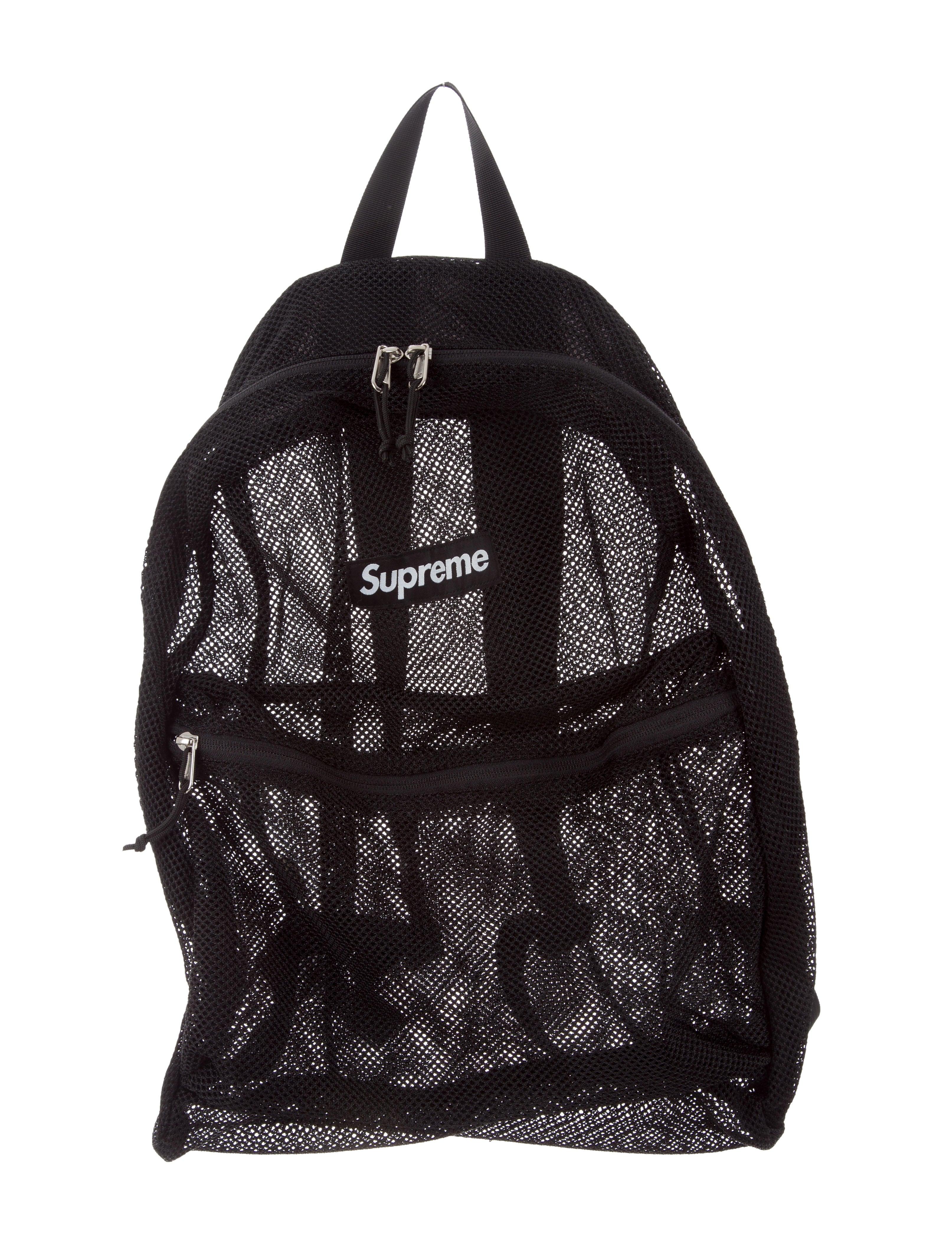 3fa65e70b8 Supreme 2016 Box Logo Mesh Backpack - Bags - WSPME21265 | The RealReal