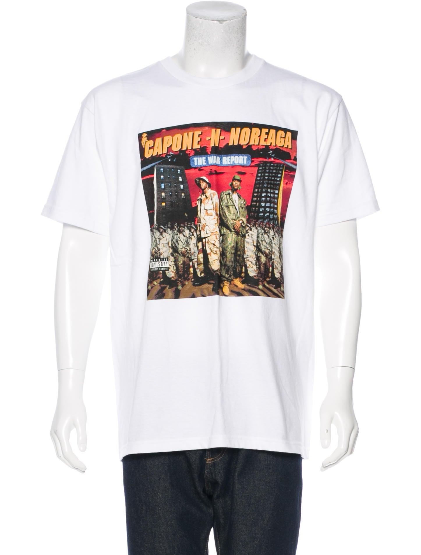 0ea3abe2c91a Supreme 2016 Capone N Noreaga T-Shirt - Clothing - WSPME21343 | The ...