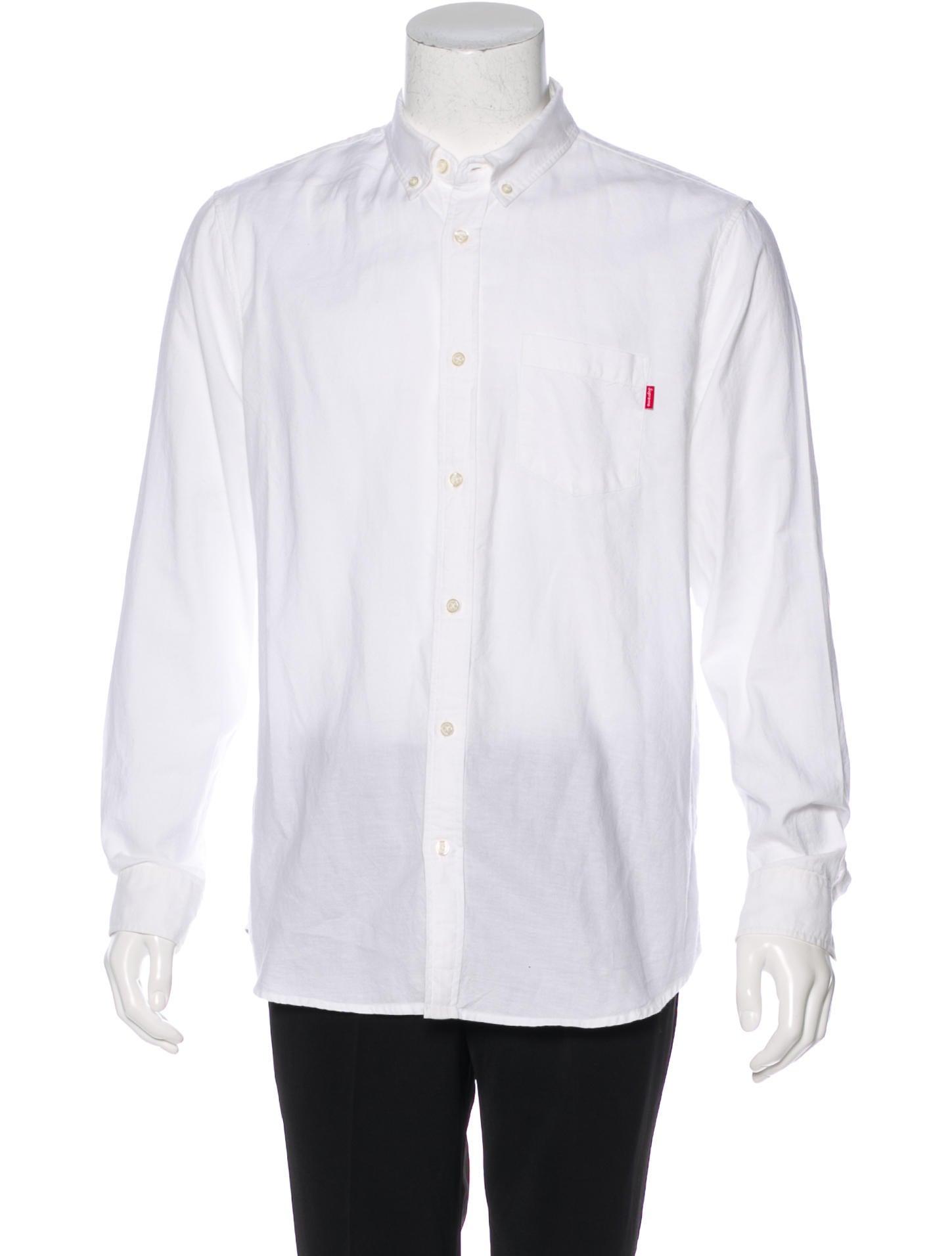 f92ff79f64b31b Supreme 2017 Oxford Button-Up Shirt - Clothing - WSPME21402 | The ...