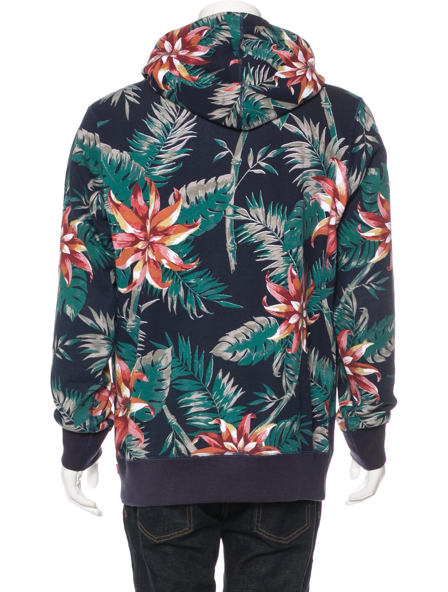 Supreme Floral Print Hoodie - Clothing - WSPME21412   The ...