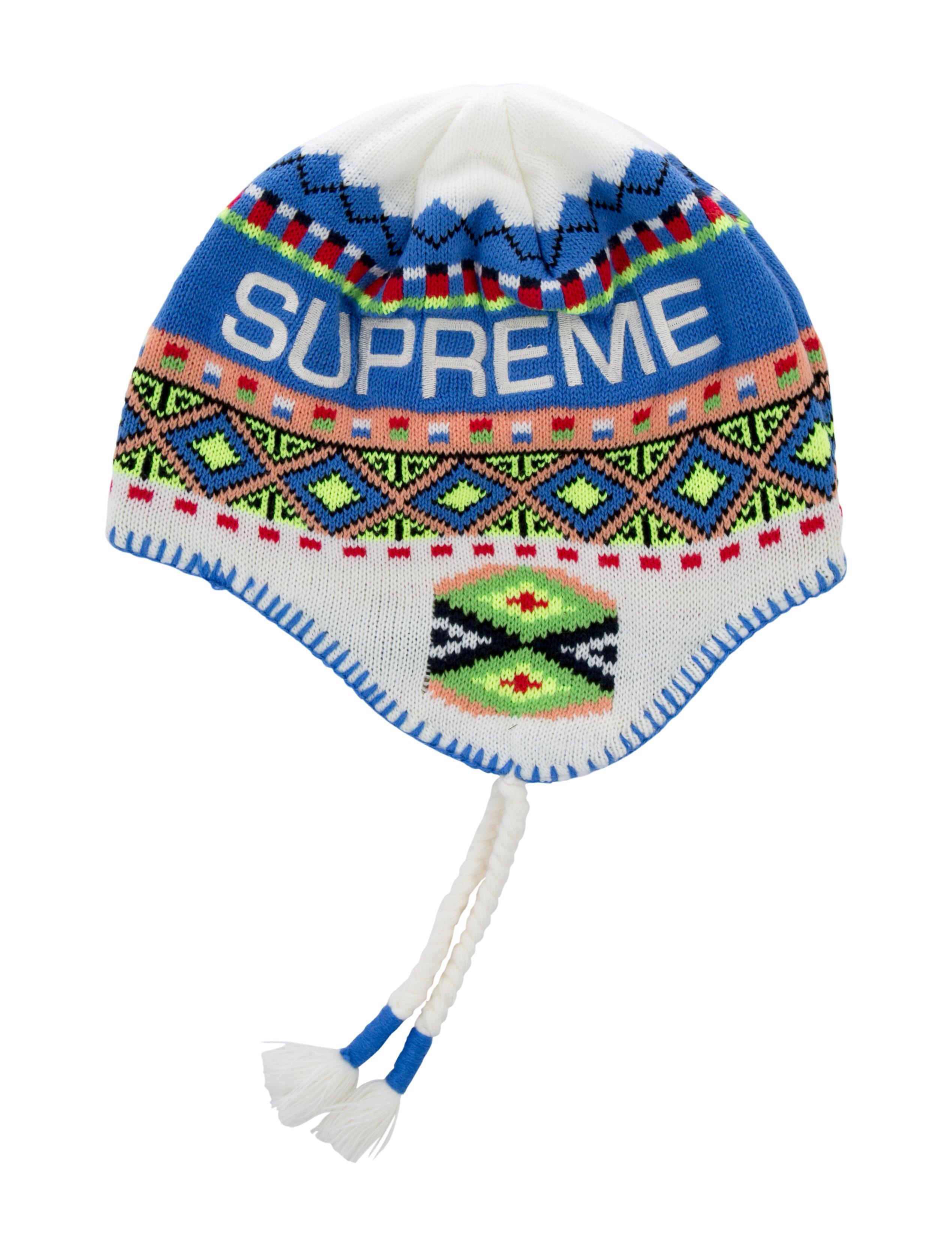 Supreme 2017 Nepali Fair Isle Beanie - Accessories - WSPME21736 ...