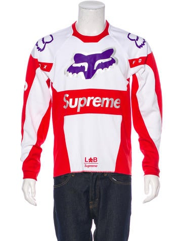 Supreme 2018 Fox Racing Moto Jersey T-Shirt w/ Tags None