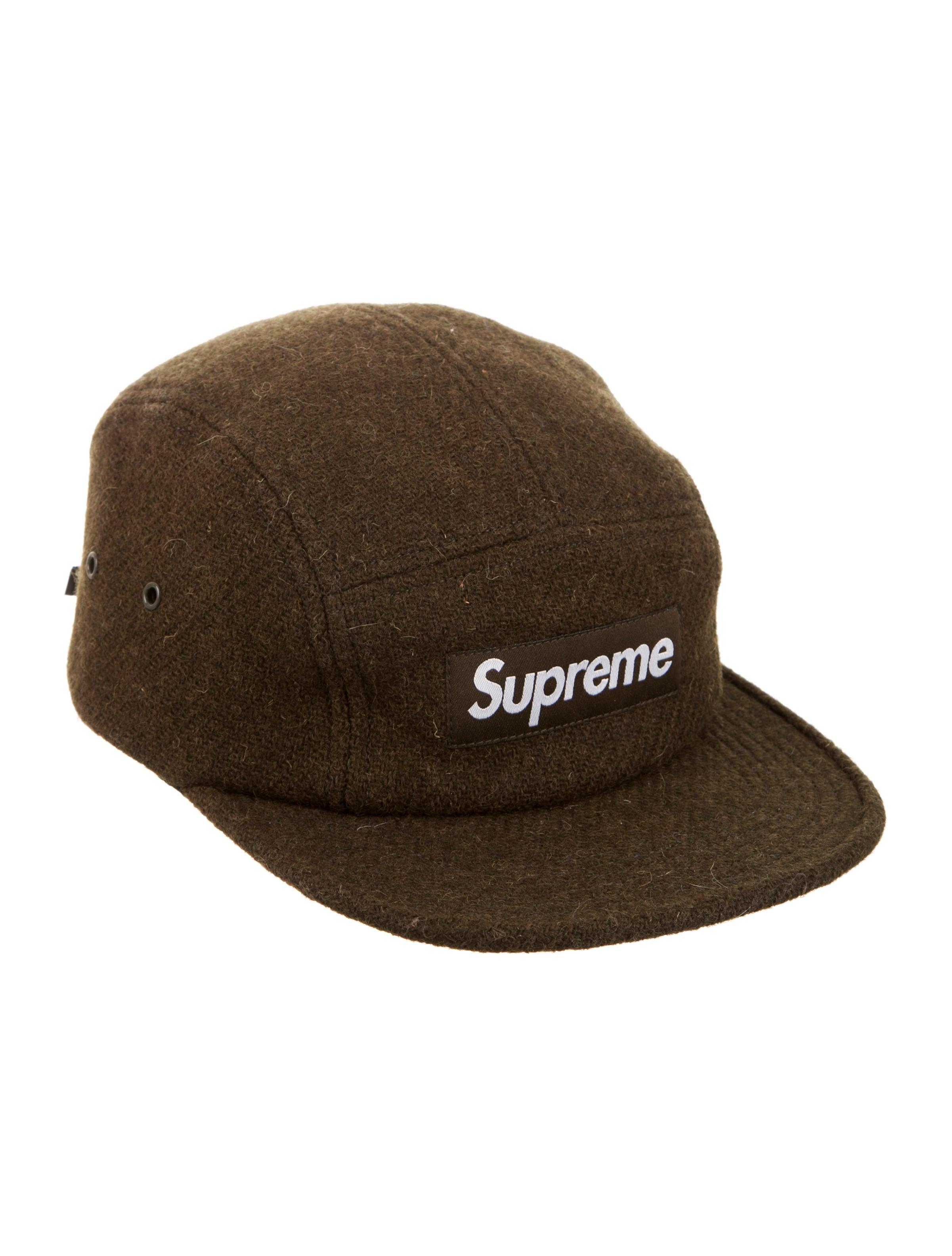 Supreme Harris Tweed® Camp Cap - Accessories - WSPME22866  ccef3e8b769