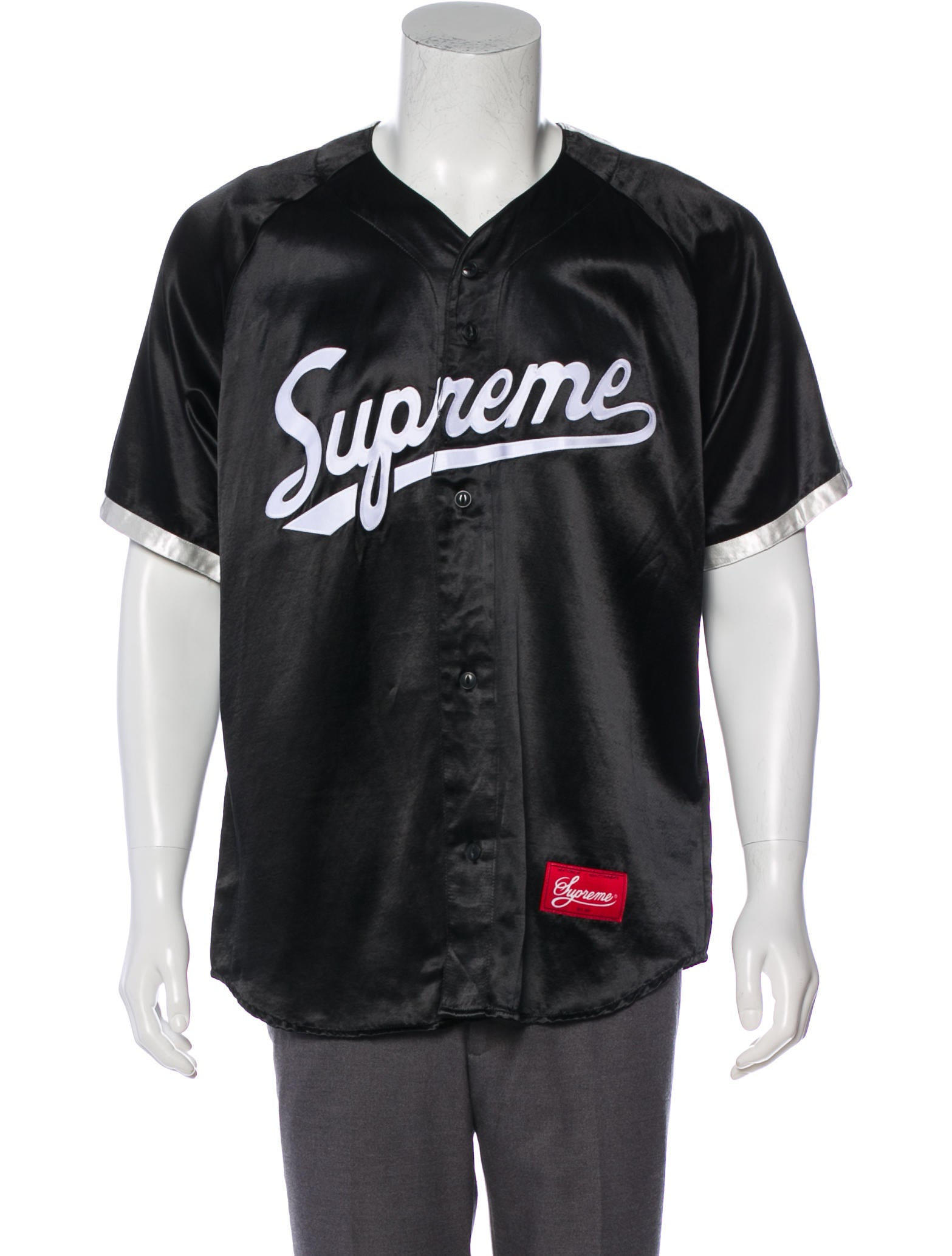 supreme baseball jersey