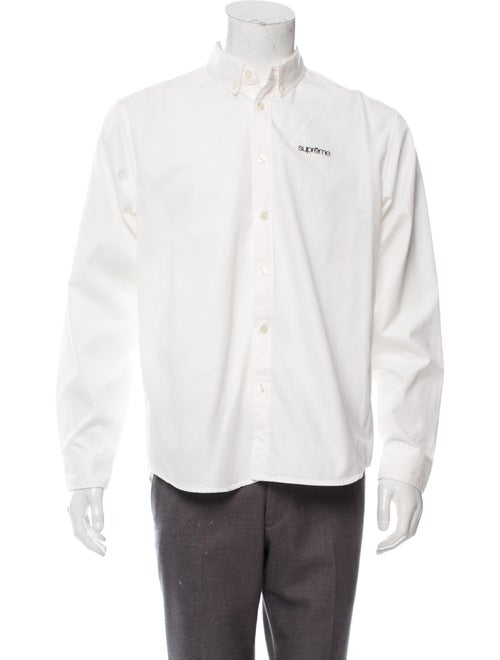 S/S19 Twill Button Up Shirt by Supreme