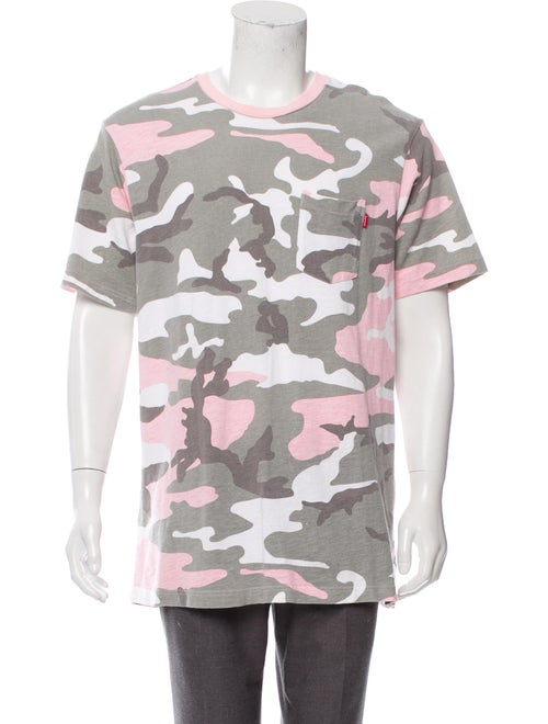 Spring/Summer 2018 Camo Pocket Tee by Supreme