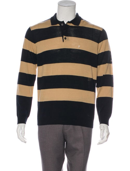 Striped Polo Sweater by Supreme