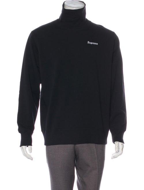 Turtleneck Collar Crew Neck Sweatshirt by Supreme